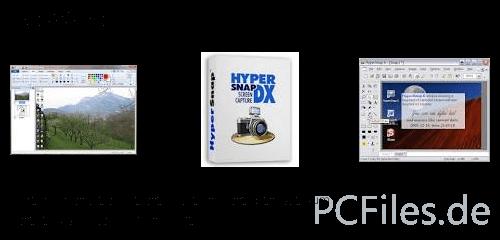Download und Infos und Anleitung in deutsch zu HyperSnap