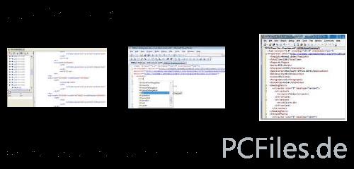 Download und Infos und Anleitung in deutsch zu Open XML Editor