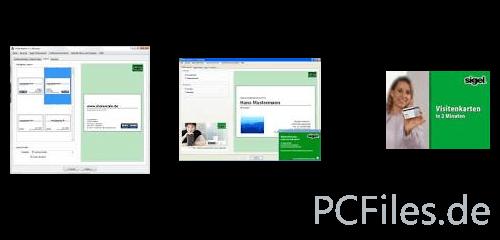 Visitenkarten in 2 minuten jp freeware - Visitenkarten freeware ...